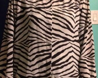Zebra Striped Blouse