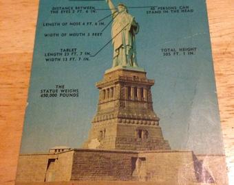Statue of Liberty Postcard 1960's