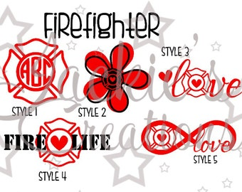 Firefighters Decals