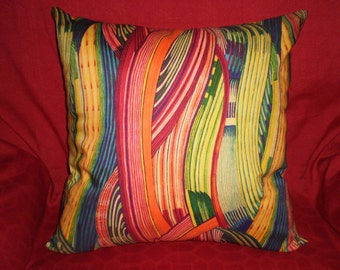 Tribal stripe print cushion cover 45cm X 45cm 100% cotton hand made