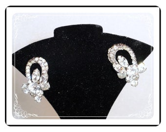 Rhinestone Vintage Earrings - Fit For the Bride  Wedding Accessories - E900a-082912006