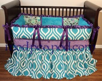 Unique Authentic ModPeaPod Baby Crib Bedding Set Gorgeous Often Imitated