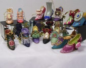 """Shoes Collectibles Ornaments  Ashton Drake """"Stepping In Time Shoes""""  All Sizes"""