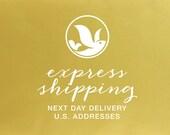 Express Shipping Upgrade - U.S. Address