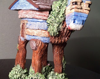 Whimsical Horse Treasure Box