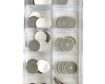 3M 78 Piece Sanding Disc Abrasive Kit In Storage Box  SALE