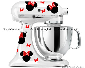 For mickey mouse fans vinyl decals for your kitchenaid stand mixer