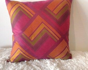 Sherbert Triangles Pillow