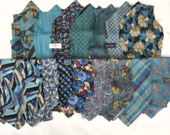 Necktie kits of 15 coordinating ready for use