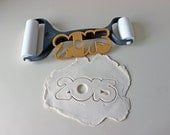 2016 Cutter - New Year's Eve or Perfect for the Class of 2015 Graduation Graduates - Playdough Cutter Cookie Cutter New Year Christmas Gift