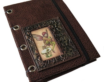 Fanciful Faeries Journal/ Sketchbook/ Memory Keeper