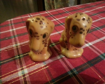 1960s Dog Salt and Pepper Shakers