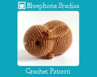 Crochet Pattern: Cocoa the Bunny