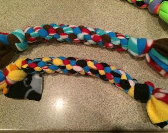 Braided Fleece Tug Toy