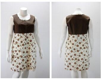 XXL Vintage Dress 1960s Komar Shift