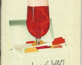 Vintage 1960's Joy's Of Jell-O Cookbook