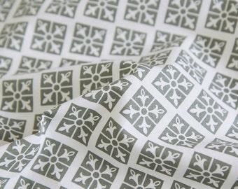 Modern Print Cotton Fabric - Black - Geometric - By the Yard 73415