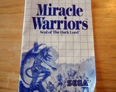 Miracle Warriors Seal of the Dark Lord manual