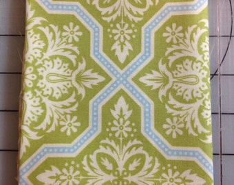 1 yard Joel Dewberry Heirloom - Tile Flourish - JD 49 in Green 100% cotton