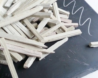 Chalk Pencil Slate pencil natural chalk stone bags of 200 grams each White Chalk Pencils