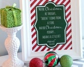Grinch Christmas Quote Printable