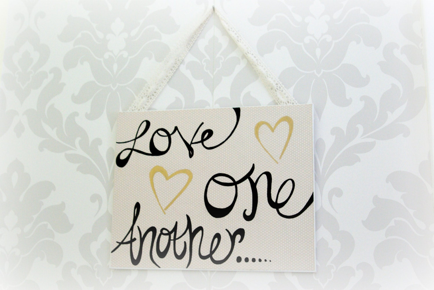 Quotes About Uplifting One Another: Love One Another Art Quotes Bible Verse Inspirational Art