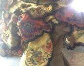 Antique Chinese Silk Collar