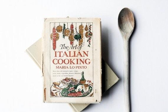 Vintage 1940s Italian Cookbook - 41.3KB