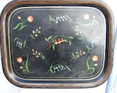 Antique French Tole Tray....