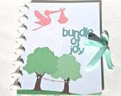 Hardcover Pregnancy Journal Scrapbook Album Expecting Mom Gift