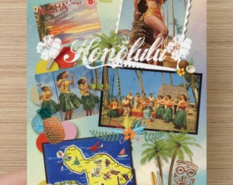 Postcard Honolulu