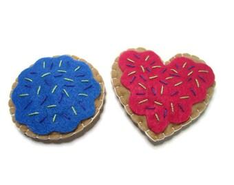 Cat Toy - Catnip Kitty Cookies - 2 Cookies