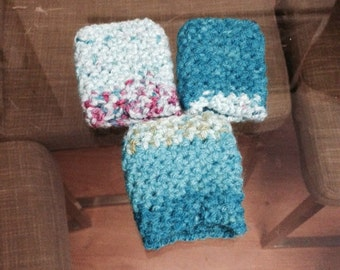 Set of 3 crochet napkin rings