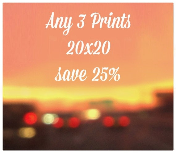 SALE - Any three 20x20 Prints 25% off - Large Wall Art Sale, Fine Art Photography, Affordable Home Decor