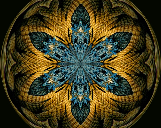 Nautical Star Orb, Fine Art, Abstract Art, Nautical Art, Photo Art, Digital Art