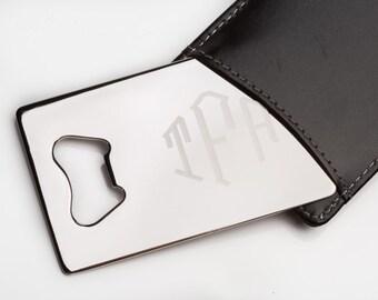 wallet bottle opener etsy. Black Bedroom Furniture Sets. Home Design Ideas