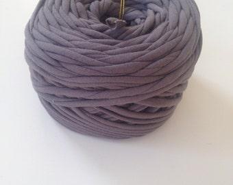 HiKoo Tee Cakes T Shirt Yarn Grey