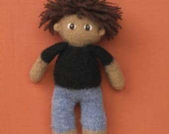 KuKu Doll Felted Doll Kit - Pedro