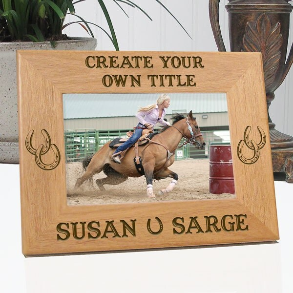 Create Your Own Horse Picture Frame