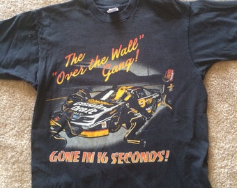 Vintage Rusty Wallace Miller Racing Shirt