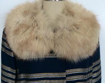 Vintage 1960s Brocade Coat