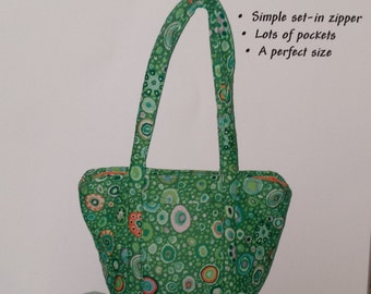 Itty Bitty Bag by Karen West - For the Love of Fabric