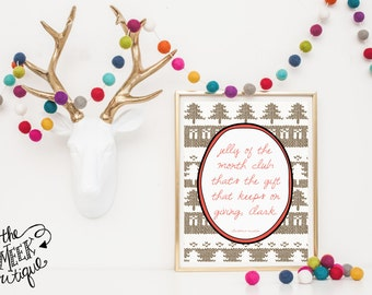 INSTANT DOWNLOAD, Christmas Vacation Quote Printable, No. 253-3
