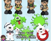 Spooky Forest Who You Gonna Call Ghost Fighters Clipart Graphics  Commercial Use