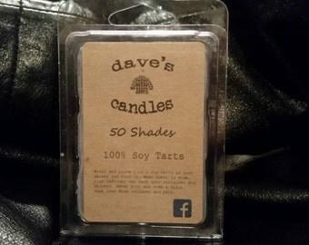 50 Shades. 100% Soy Wax Tart