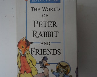 Vintage VHS Beatrix Potter The World of Peter Rabbit and Friends  Peter Rabbit Movie Video Story of Peter Rabbit and His Friends