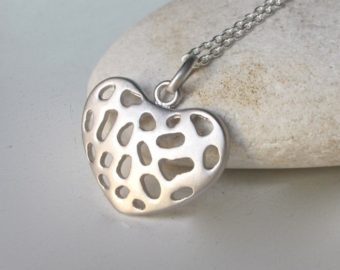 Heart Necklaces- Classic Necklace-Gifts for Her- Heart Shaped Necklace- Jewelry Gifts