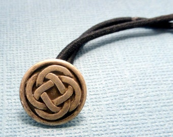Celtic Knot Ponytail Holder (1) - READY TO SHIP