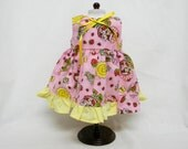 Pink Strawberry Shortcake Dress  for 18 inch doll like the American Girl.