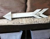 Rustic Reclaimed Wood Arrow Wooden Arrow Decor Distressed Wood Arrow Decor